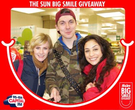 Big Smile Giveaway, London