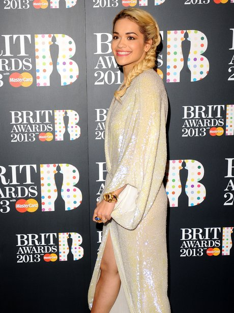 Rita Ora BRIT Awards Nominations 2013