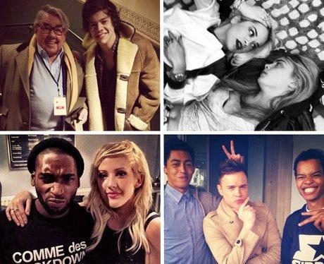 Pop Stars With BFFs