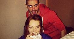 Linsay Lohan and Max George