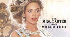 bsyonce the mrs.carter show poster