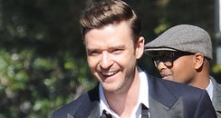 Justin Timberlake Filming New Video