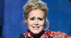 Adele at the 2013 Grammy Awards
