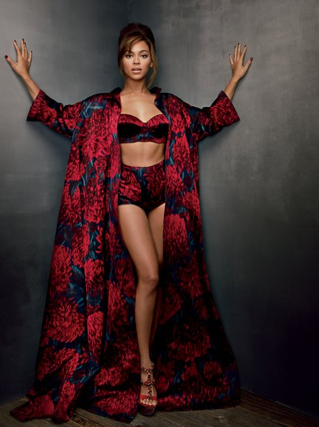 Beyonce in the new issue of Vogue US