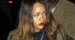 Rihanna on a night out