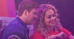 Rita Ora and James Arthur 2013