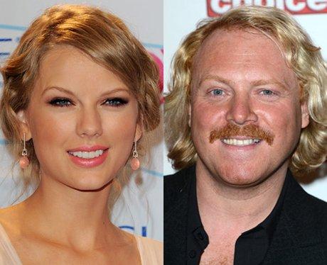 Taylor Swift and Keith Lemon