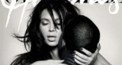 Kanye West and Kim Kardashian  L'Officiel Homme