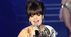 Lily Allen performs during the Etam Live Show