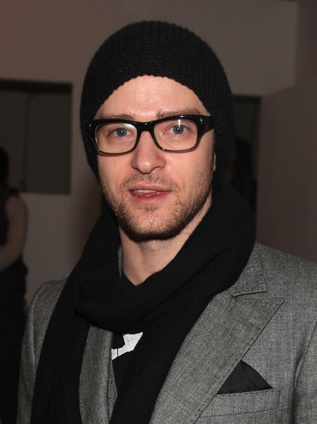 Justin Timberlake wearing a beanie