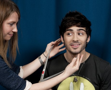 Zayn Malik having Madame Tussauds waxwork made