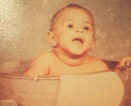 Chris Brown Baby Picture