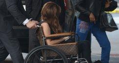 Lady Gaga in Wheelchair