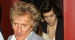 Harry Styles and Rod Stewert