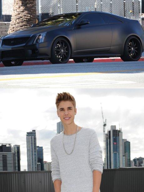 Justin Bieber Batmobile