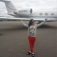 Rihanna Private Jet Instagram