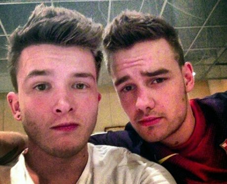Liam Payne and band's drummer on tour