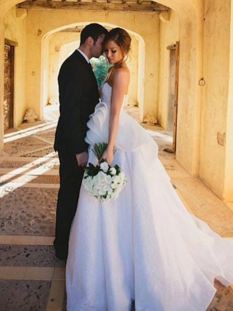 Example And His New Wife Erin Mcnaught Pictures Of The