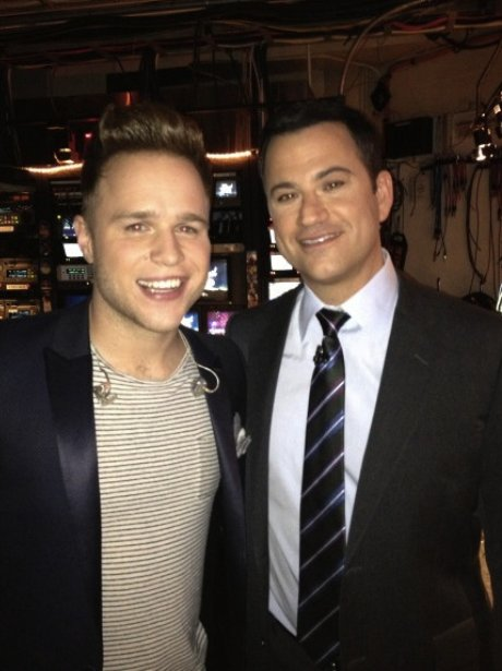 Olly Murs And jimmy Kimmel