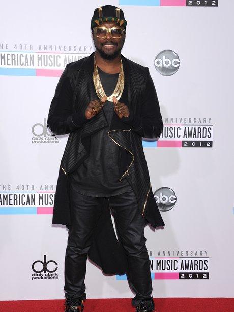 Will.i.am American Music Awards 2012