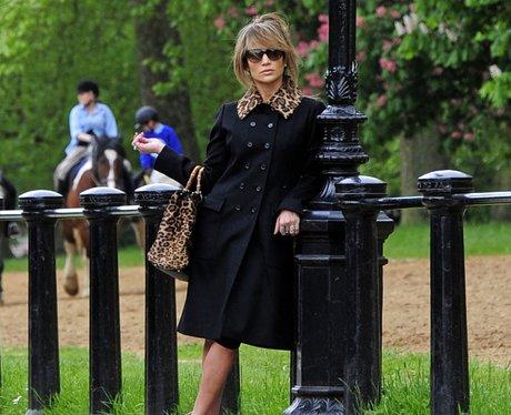 Jennifer Lopez on a photoshoot in London
