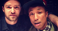 Justin Timberlake and Pharell