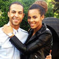 Rochelle Wiseman and Marvin Humes together