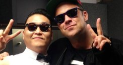 PSY and Robbie Wiliams Summertime Ball 2013