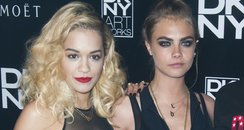 Rita Ora, Cara Delevigne and Iggy Azalea