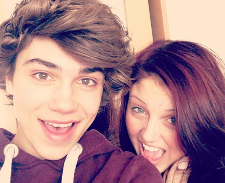 George from Union J takes his sister shopping