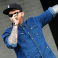 James Arthur on stage at T in the Park 2013