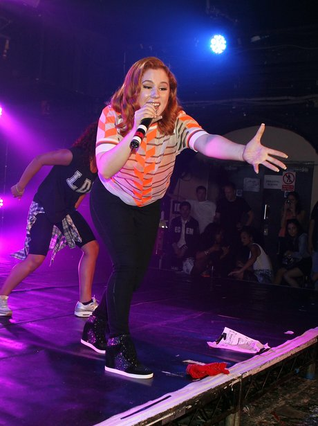 Katy B perform at G-A-Y Heaven
