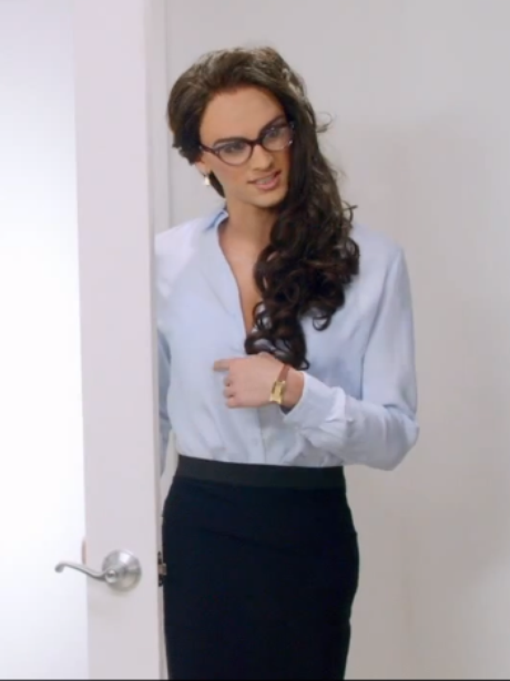 Zayn Malik as a woman in the 'Best Song Ever' music video