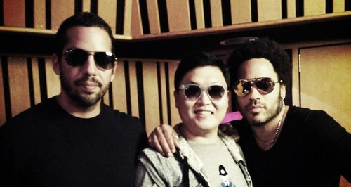 PSY, Lenny Kravitz and David Blaine