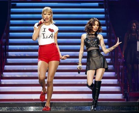 Taylor Swift and Cher lloyd