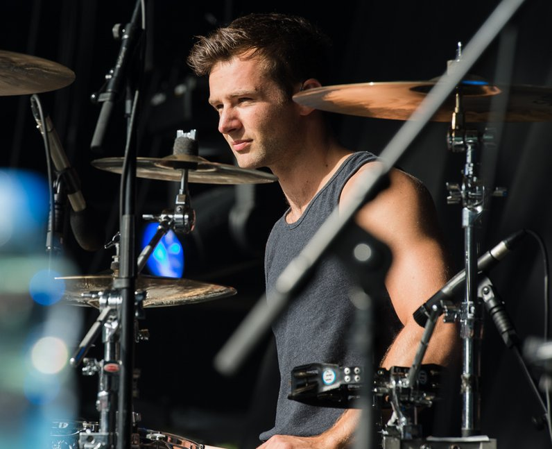 Harry Judd McFly live at Fusion Festival 2013