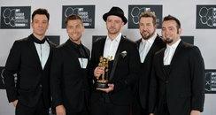 N*Sync MTV VMAs 2013