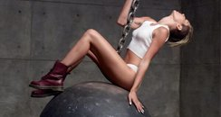Miley Cyrus Wrecking Ball Teaser