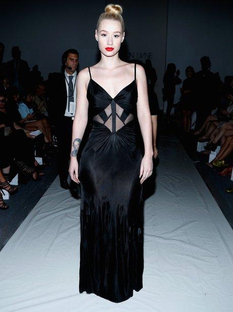 Iggy Azalea Fashion Week 2013