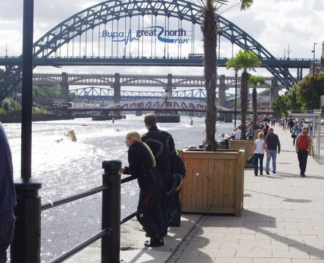Zap Cats at the Quayside