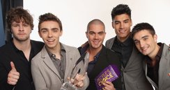 The Wanted Peoples Choice Awards