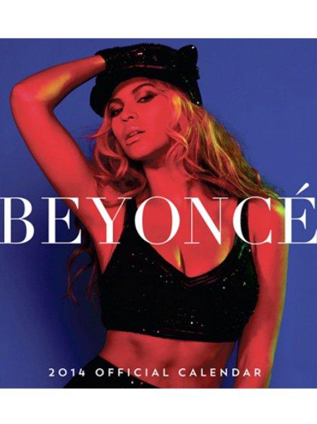 Beyonce's 2014 calendar cover