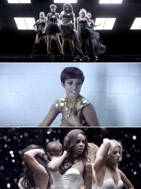 The Saturdays' 'All Fired Up' music video