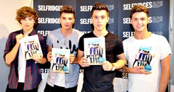 Union J meet fans and sign copies of their book