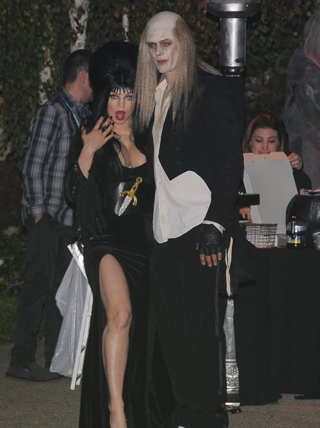 Fergie and Josh Duhamel in Halloween costumes