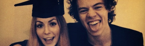 Harry Styles and Sister Instagram