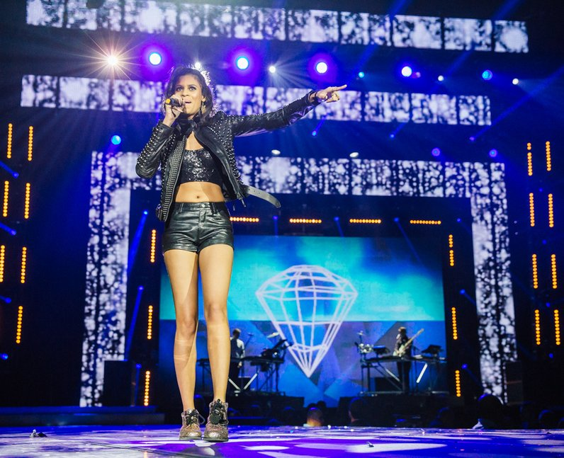 Disclosure with AlunaGeorge live Jingle Bell Ball