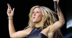 Ellie Goulding at the Jingle Ball Ball 2013: Live