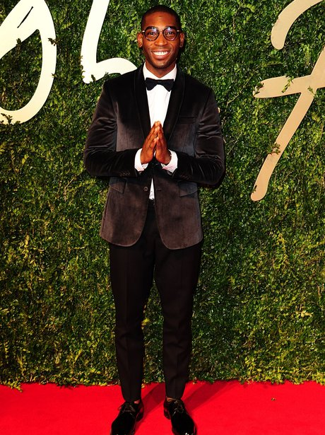 Tinie Temapah at the British Fashion Awards 2013