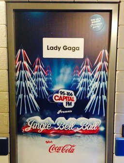 Jingle Bell Ball 2013: Backstage